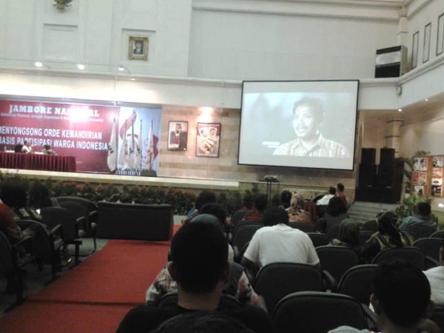 Gedhe Presentasikan Teknologi Perdesaan di Jambore Seknas Jokowi
