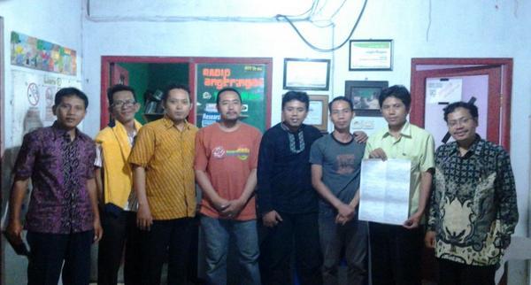 Gedhe Foundation Fasilitasi Sejumlah Pemdes Banyumas Studi Banding ke Yogyakarta