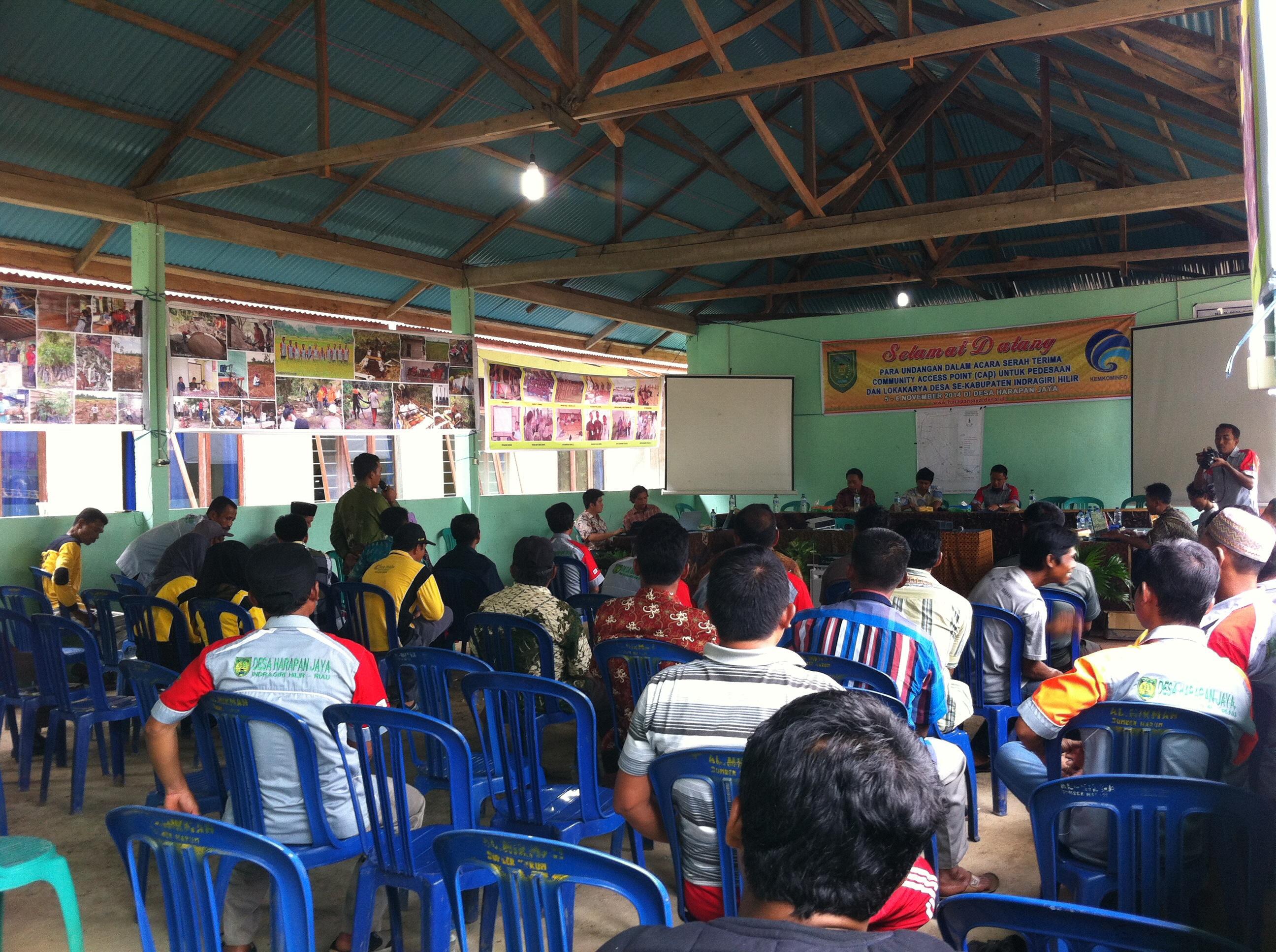 Tujuh Desa di Indragiri Hilir Bersepakat Bangun Desa Hebat