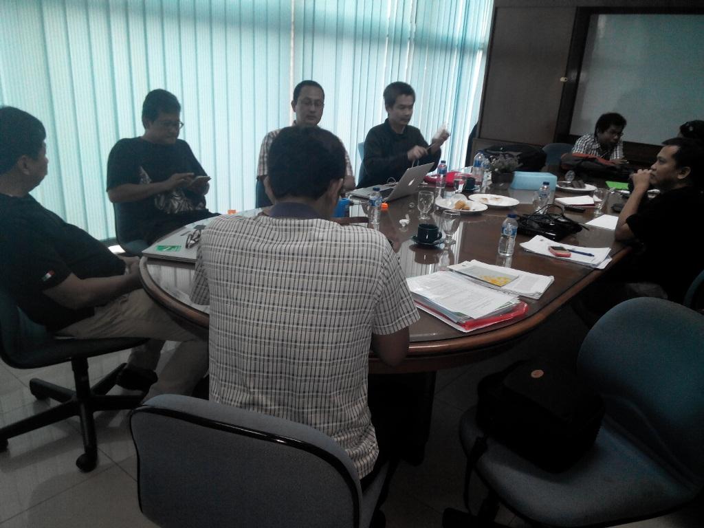 Rapat Persiapan Teknis Pelaksanaan Workshop Untuk Tim BP2DK dan Fasilitator Kabupaten