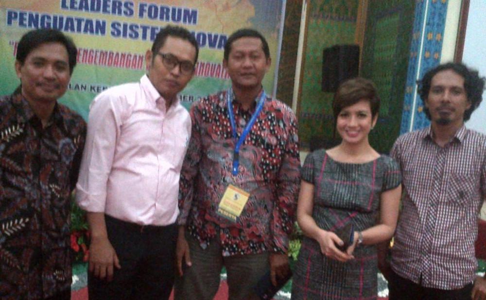Gedhe Berbagi Strategi Pemberdayaan Desa di Leader Forum Kabupaten Palalawan