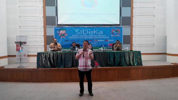 Menteri Kominfo Menutup Pelatihan SIDeKa