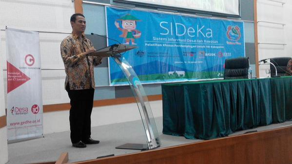 Kehadiran Menteri Pertanian di Pelatihan SIDeKa