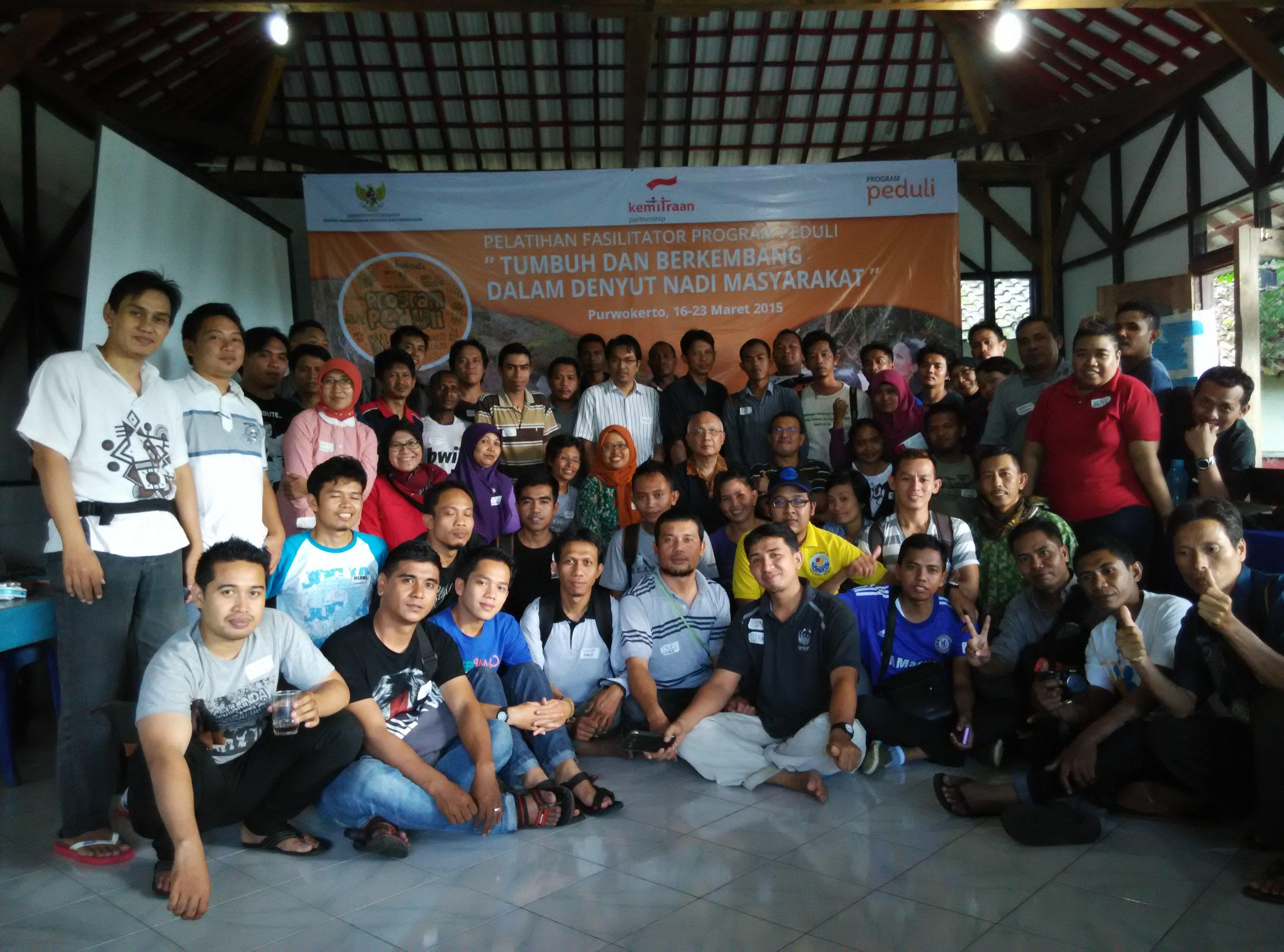 Gedhe Foundation Ikuti  Pelatihan Fasilitator Peduli