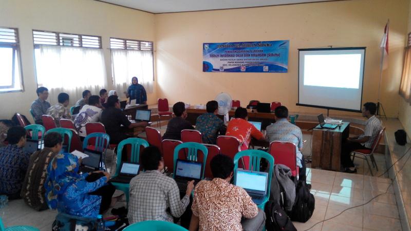 Kejobong Jadi Pelopor Penerapan Sistem Informasi Desa di Purbalingga