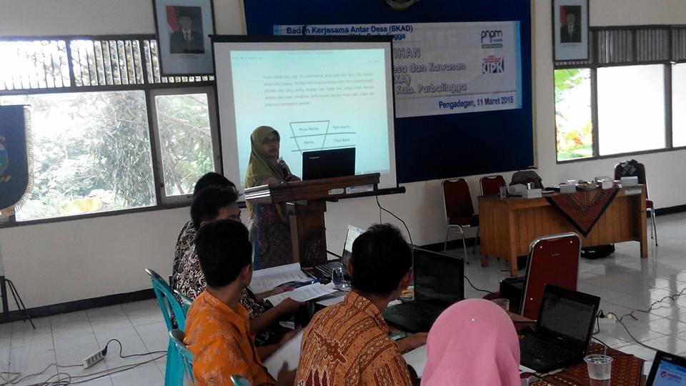 Gedhe Fasilitasi Pelatihan Sistem Informasi Desa di Kecamatan Pangadegan