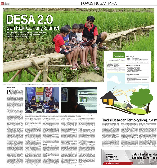 Desa 2.0 (Media Indonesia 20 Mei 2015)