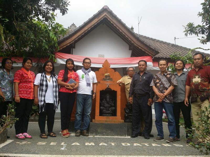 Gedhe Dukung Sistem Informasi Desa Wisata di Bali