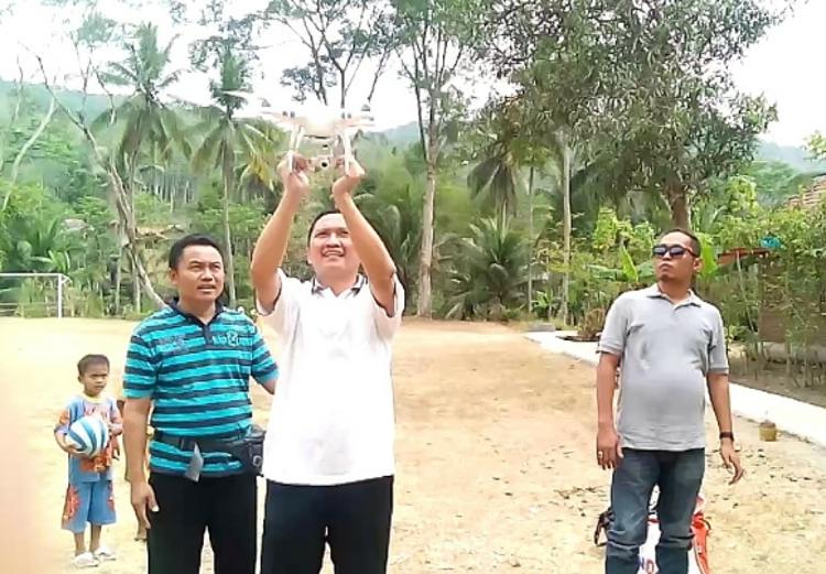 Desa di Banyumas Gunakan Drone untuk Petakan Wilayah Desa