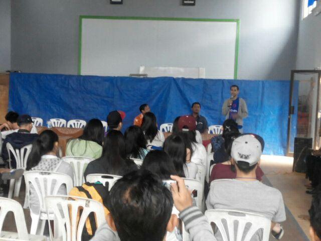 SMA Saint Peter's Kelapa Gading Live In di Melung
