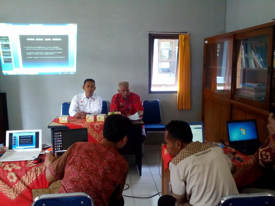 Gedhe Fasilitasi Temu Admin Website Desa se-Kecamatan Kalibagor