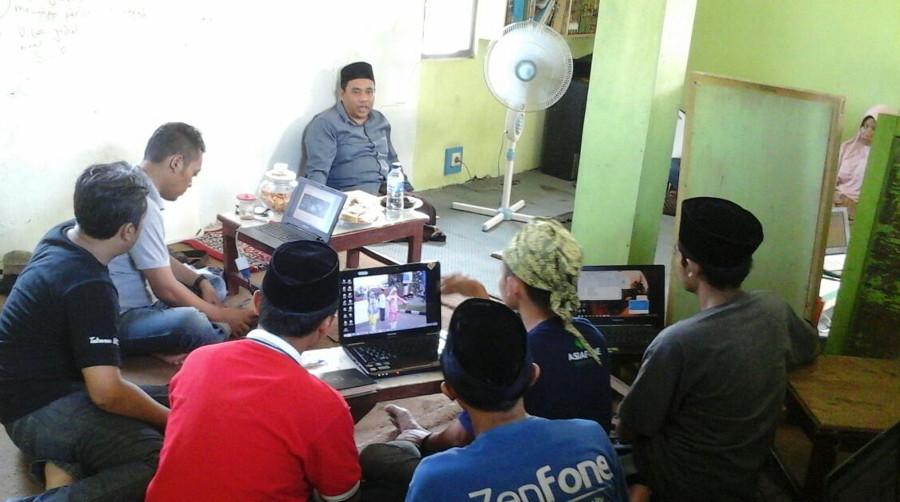 Gedhe Foundation Latih Santri Ponpes Aswaja Nusantara Bikin Web