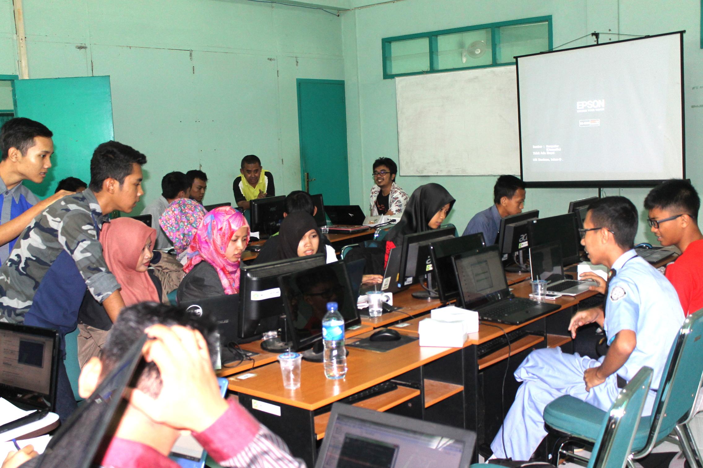 ICT Gedhe ajak Mahasiswa STIMIK Tunas Bangsa Banjarnegara jadi Programmer Android