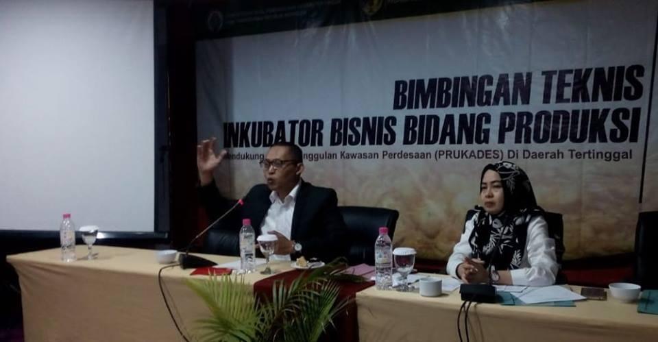 Gedhe Dukung Program Inkubasi Bisnis di Kabupaten Donggala