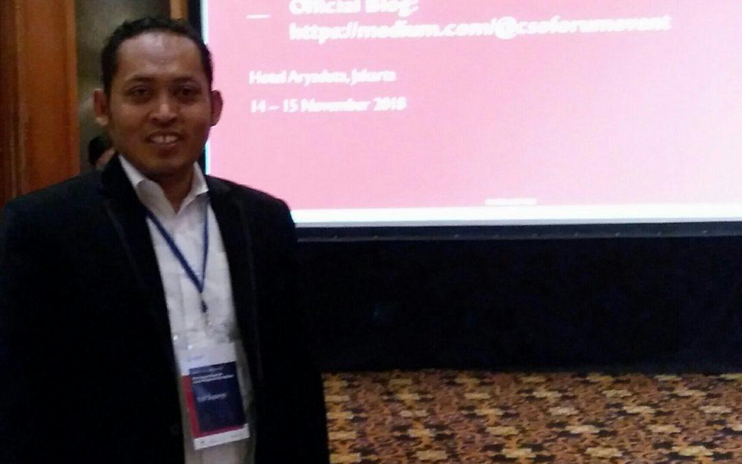 Gedhe Nusantara Ikuti Indonesia Civil Society Forum 2018