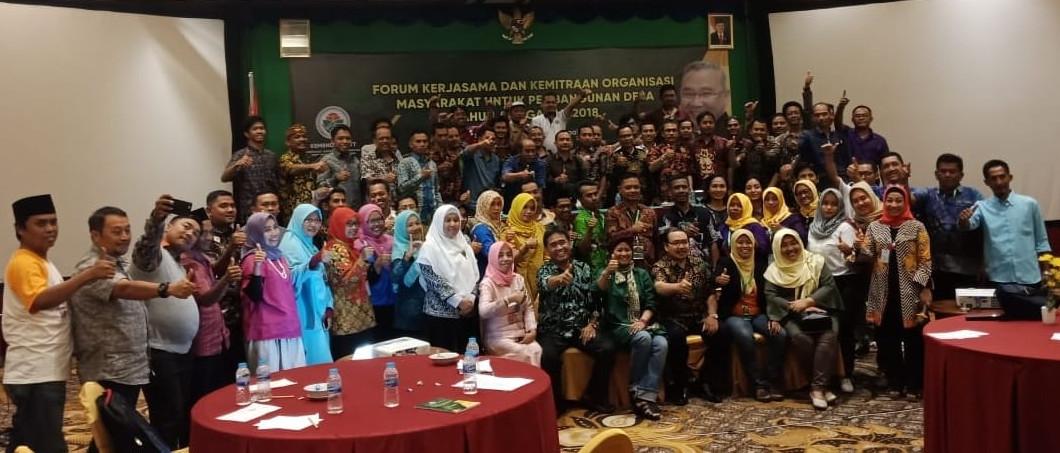 Gedhe Dukung Penguatan Forum Kerjasama dan Kemitraan Masyarakat Desa