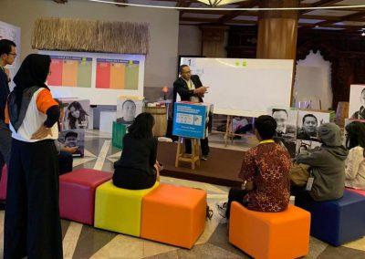 Gedhe Nusantara Presentasikan Sistem Inovasi Desa dalam Indonesia Development Forum 2019