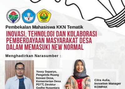 Gedhe Nusantara Berbagi Inovasi Desa dalam Pembekalan KKN Tematik Universitas Jember